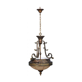 Al Masah Crystal Glass Plate Pendant Light - PEN00126