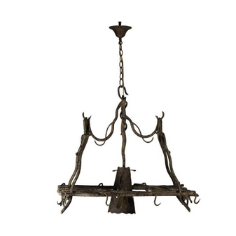 Al Masah Crystal Wooden Twig Pendant Light - PEN00058