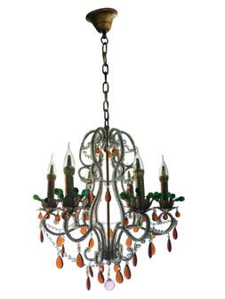 Al Masah Crystal Festive Candlelit Chandelier - CHA00719