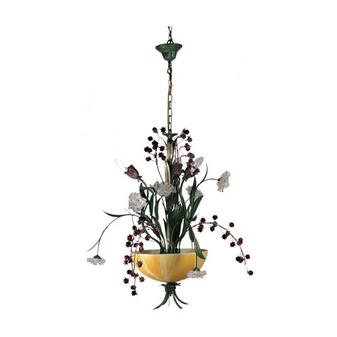 Al Masah Crystal Tulip Vase Chandelier - CHA00558