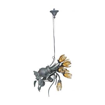 Al Masah Crystal Slanting Flower Pot Halogen - CHA00597