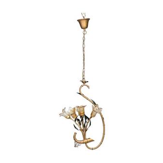 Al Masah Crystal Six Flower Halogen Chandelier - CHA00547