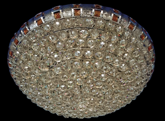 40523-18 Light Chrome Champagne Ceiling Lights