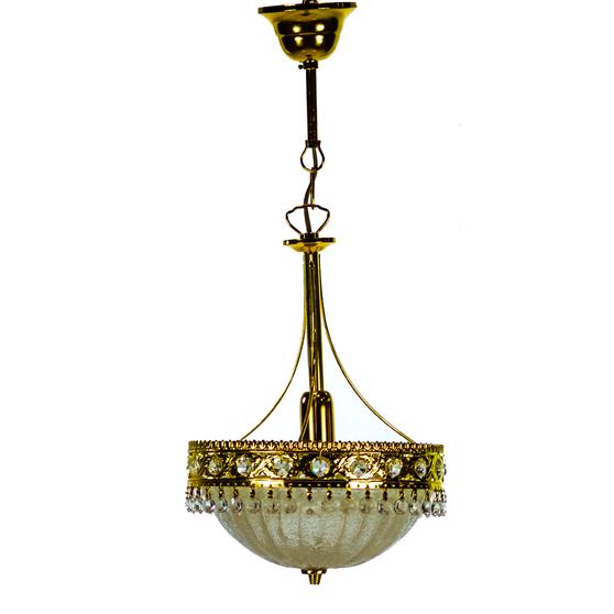 Al Masah Crystal Chandelier - CHA01100 - 410/D25 LAMP ORO