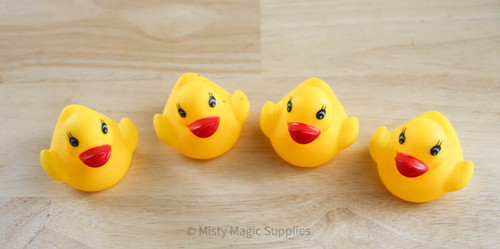 Yellow Rubber Ducks  (4 pack)