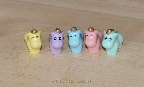 Mini Baby Unicorn Toys Toys 5 pk