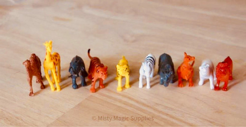 Zoo/ Jungle Mini Toys 10 pk
