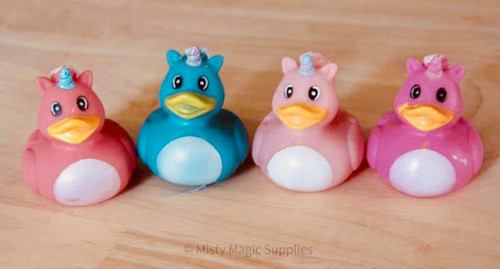 Unicorn Rubber Ducks  (4 pack)