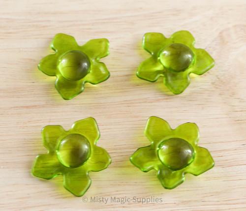 Flower Power- Green Bath Beads 5 pack