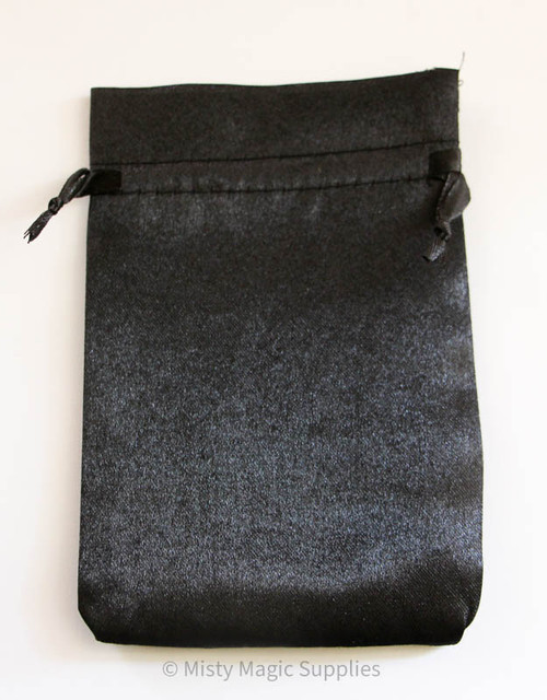 Black 4 x 6 Satin Bags (5 ct)