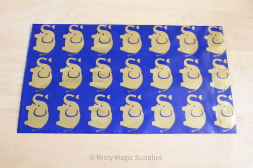 6 x 9 Elephant Polymailer- 10 ct