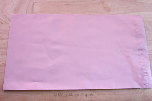 6 x 9 Pink Poly mailer- 10 ct