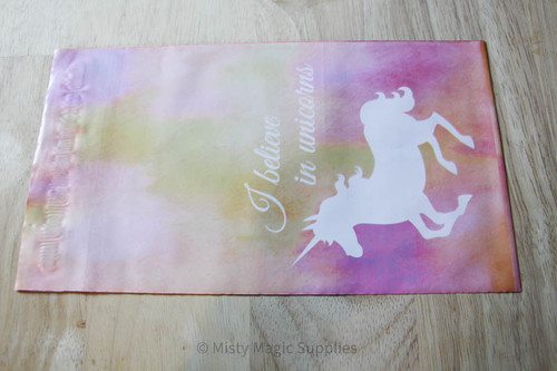 6 x 9 Pink Unicorn Poly mailer- 10 ct