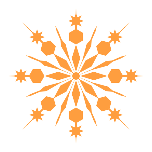 Snowflakes and Citrus- Pre buy