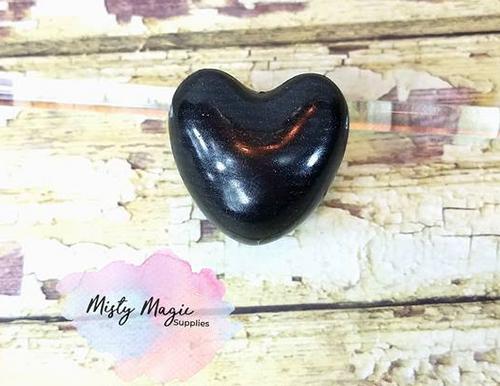 Black Hearts Bath Beads 5 pack