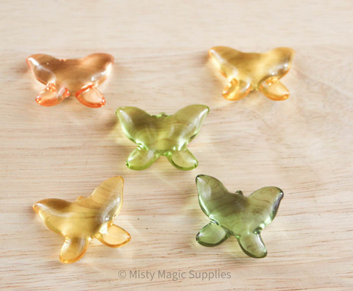 Butterfly Bath Beads 5 pack