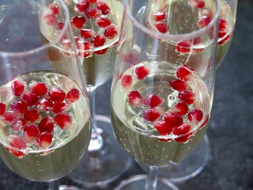Champagne Pomegranate