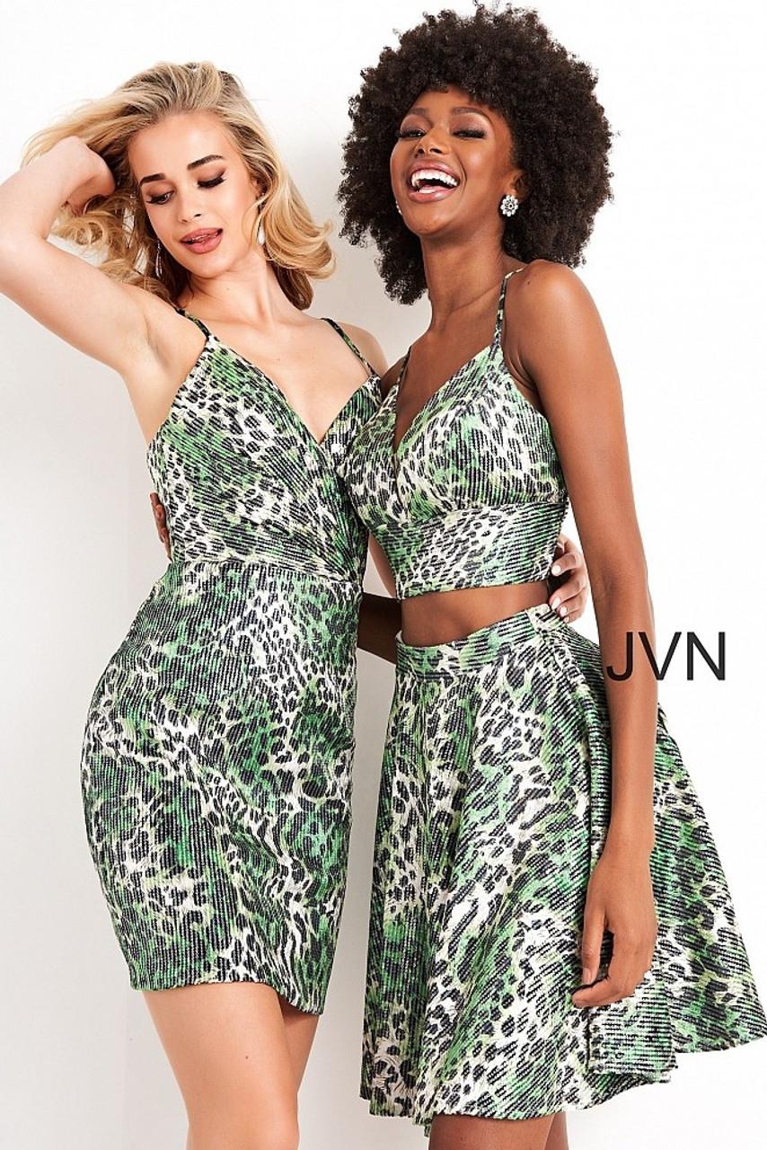 Jovani JVN05812 Spaghetti Strap Dress