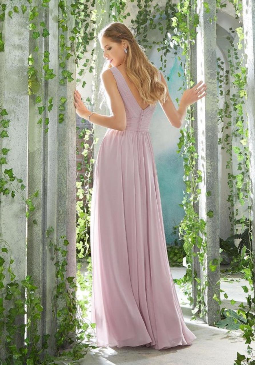Morilee 21621 V Back Bridesmaid Dress