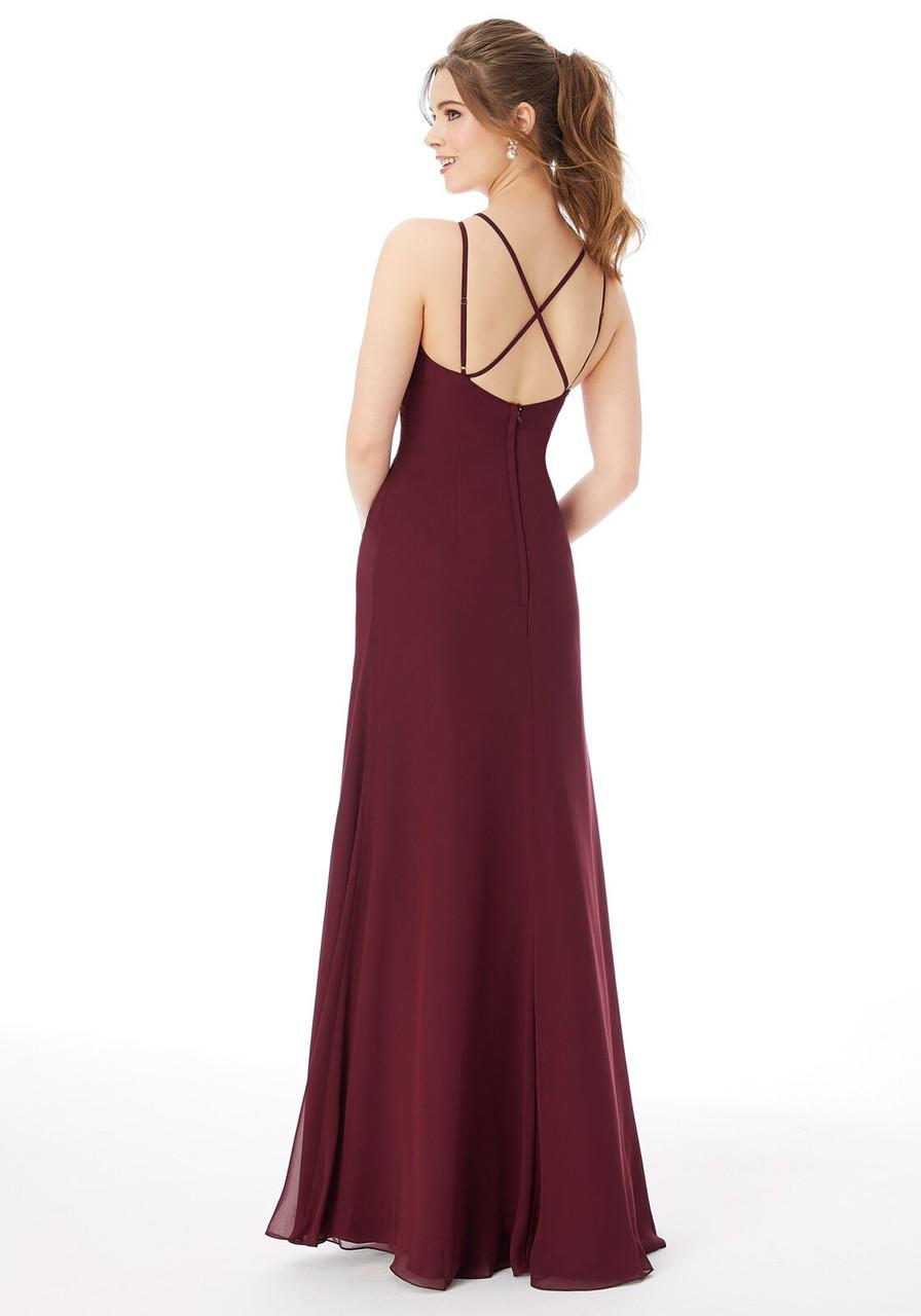 Morilee 13103 Strappy Chiffon Bridesmaid Dress