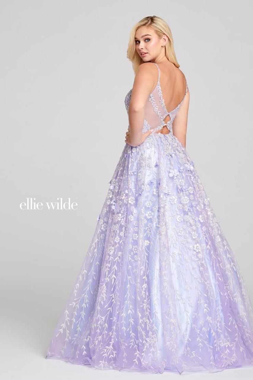 Ellie Wilde by Mon Cheri EW121026 Sleeveless Ice Ball Gown