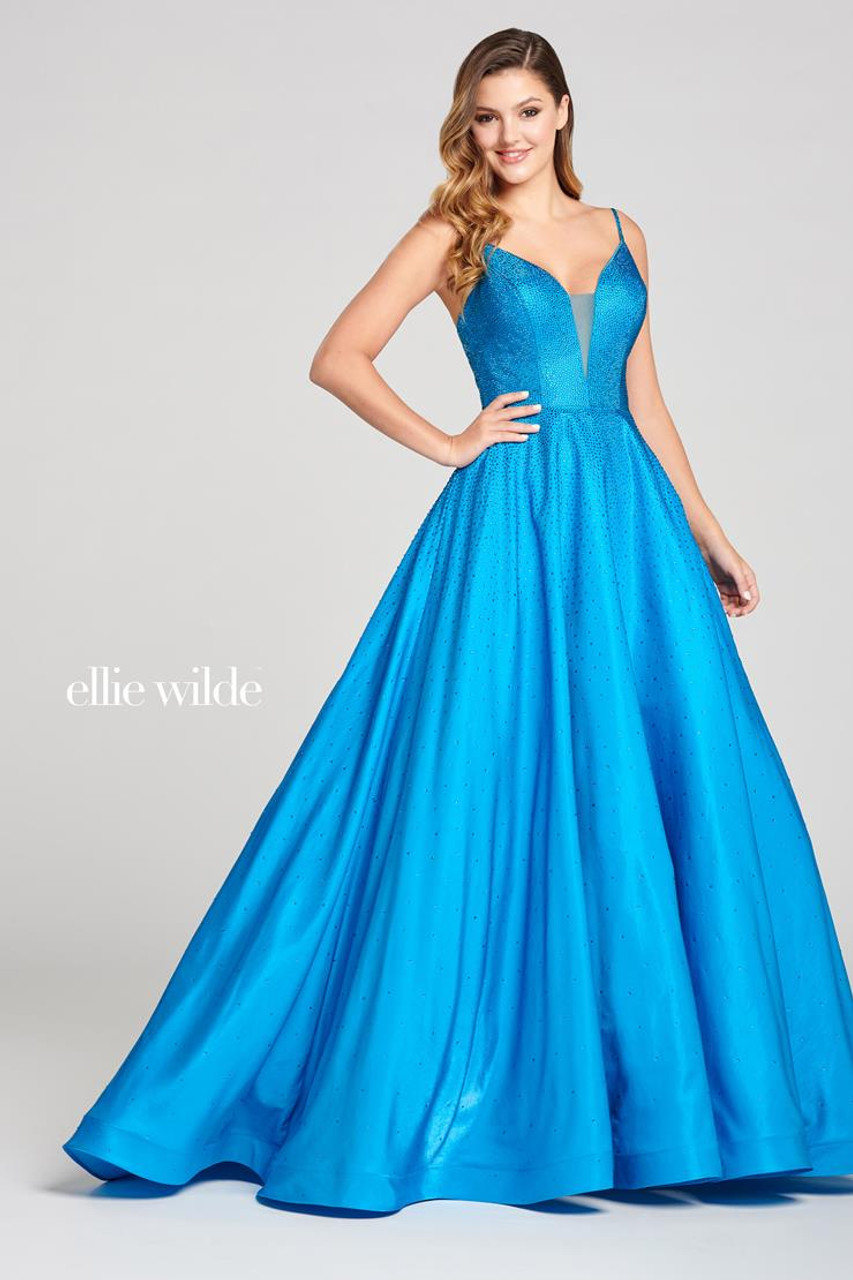 Ellie Wilde by Mon Cheri EW121005 Sleeveless Ball Gown