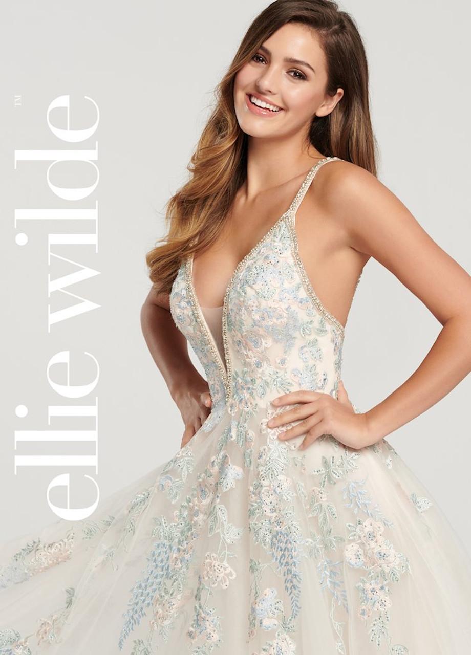 Ellie Wilde by Mon Cheri EW119010 Sleeveless Ball Gown