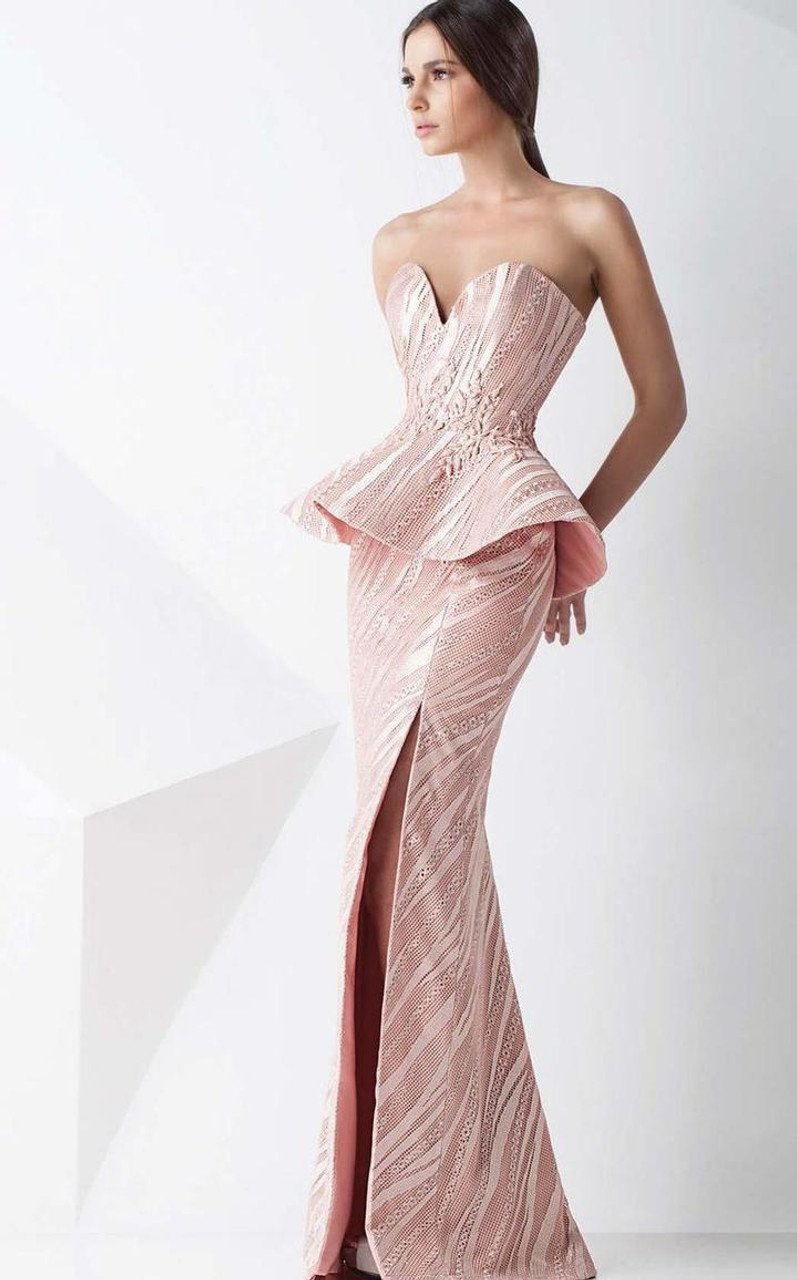 MNM Couture G0776 Two Piece Sweetheart Neck Sheath Dress