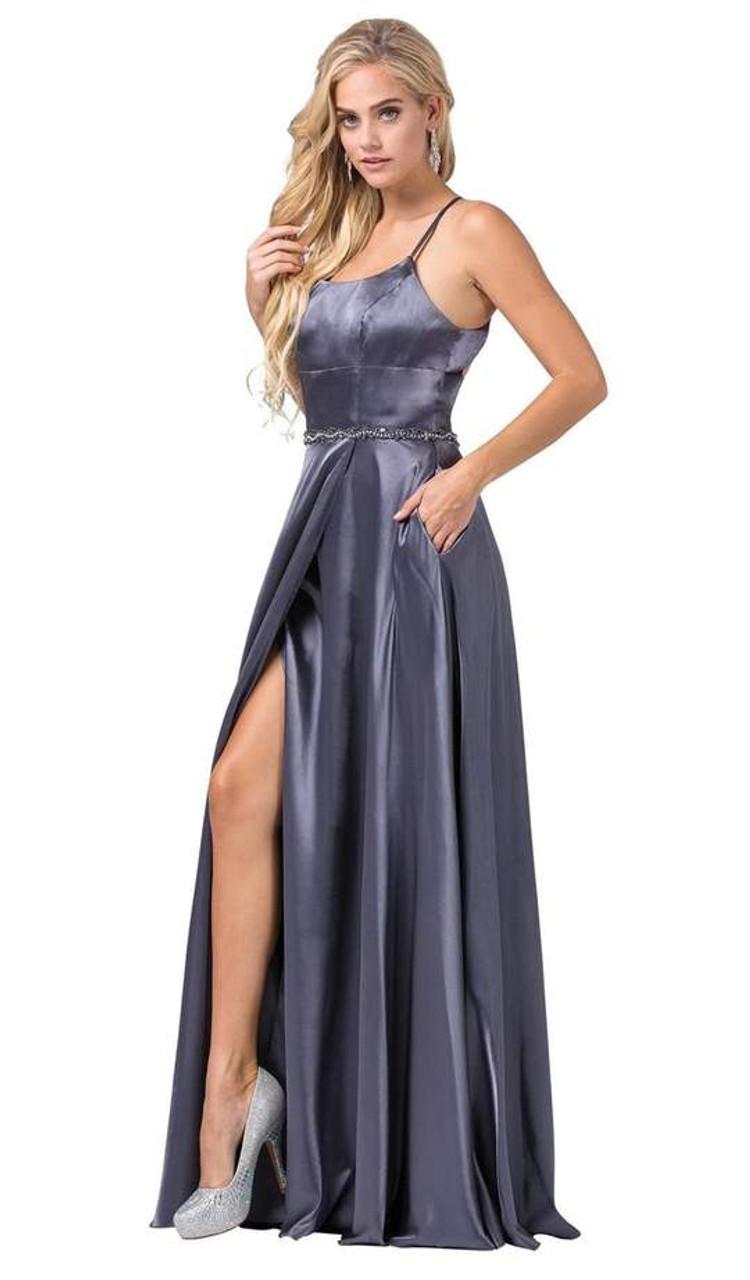 Dancing Queen 2652 Sleeveless Scoop Neck Embellished Dress