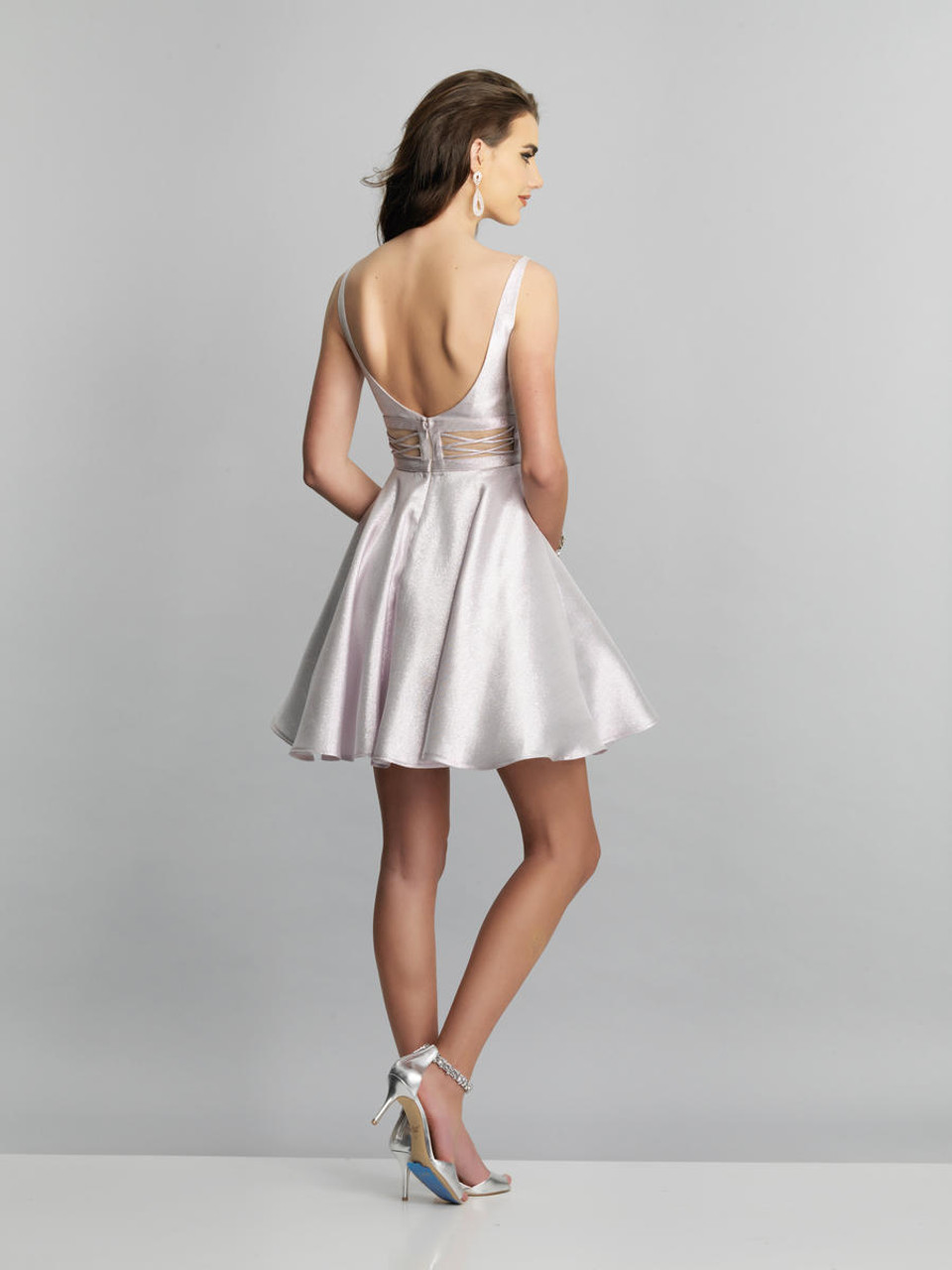 Dave & Johnny A8454 Sweetheart A-line Short Dress