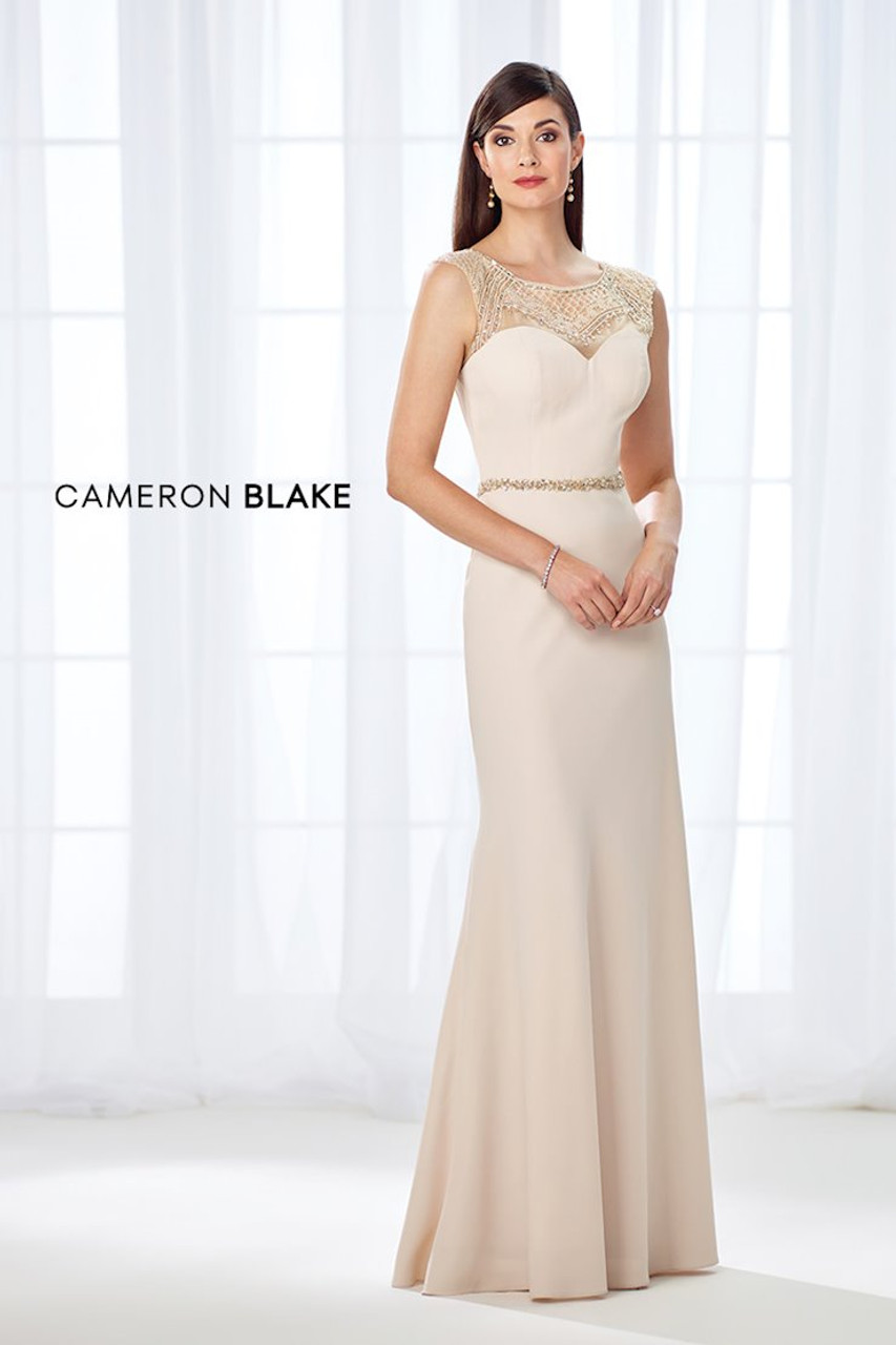 Cameron Blake by Mon Cheri 117606 Sweetheart Bodice Gown