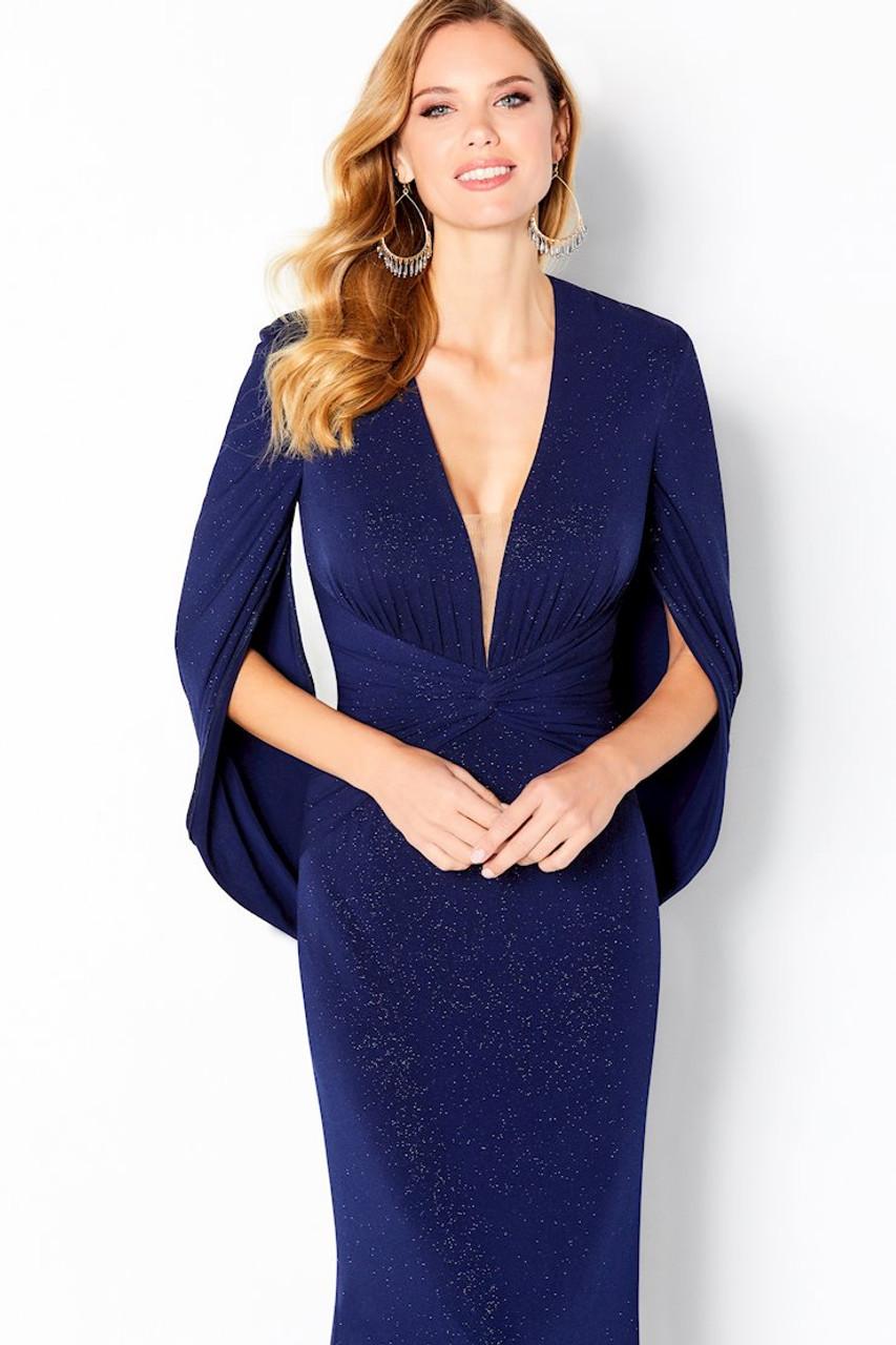 Cameron Blake by Mon Cheri 220653 Three Quarter Sleeve Gown