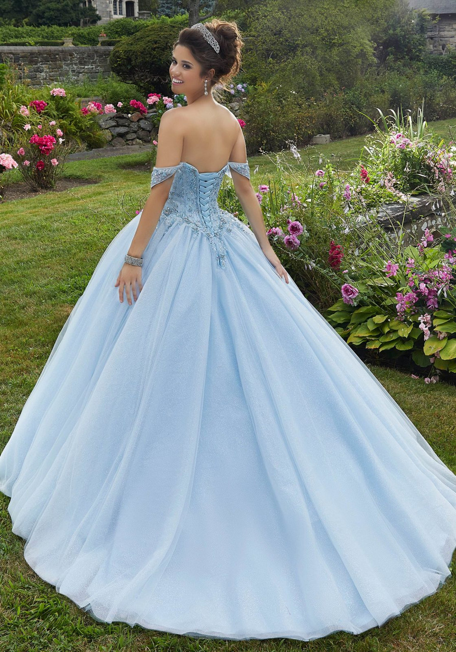 Morilee 60101 Jeweled Beaded Embroidery Quinceanera Ballgown