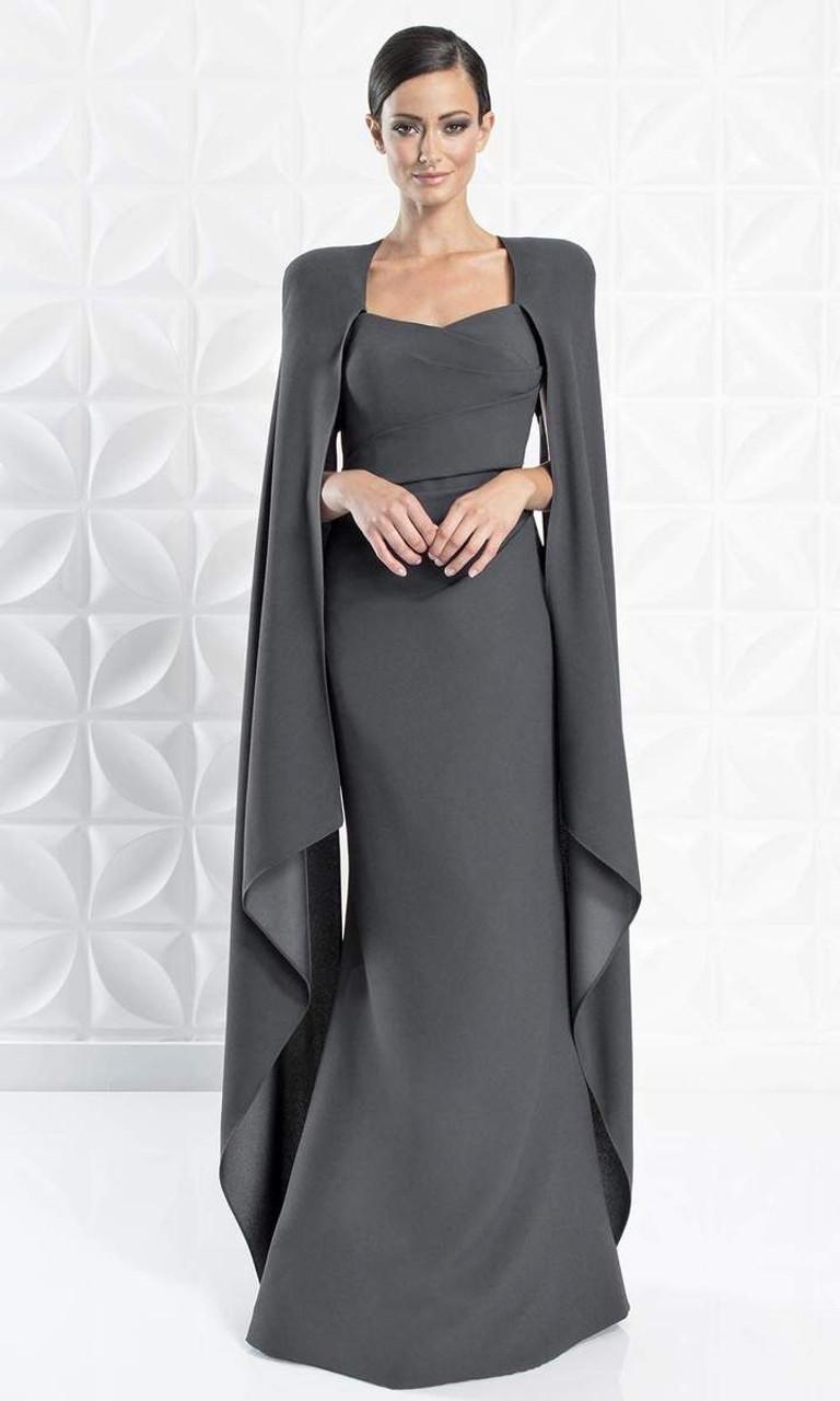 Alexander by Daymor 1272 Strapless V-neck Long Dress