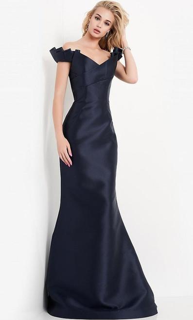 Jovani Prom JVN04717 Off Shoulder Trumpet Gown