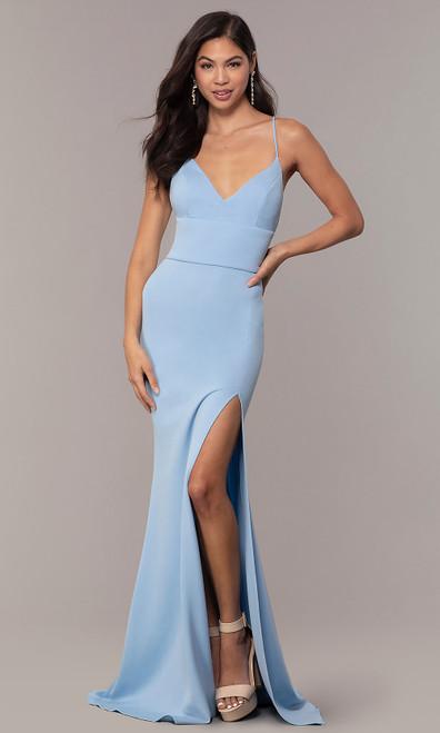 Jovani Prom JVNX66729 Long Formal Dress With Corset Back