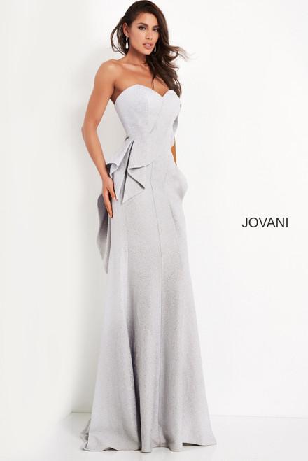 Jovani 04430 Strapless Sweetheart Neck Evening Dress