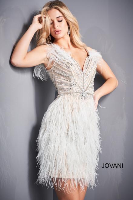 Jovani 04739 Beaded Cocktail Dress