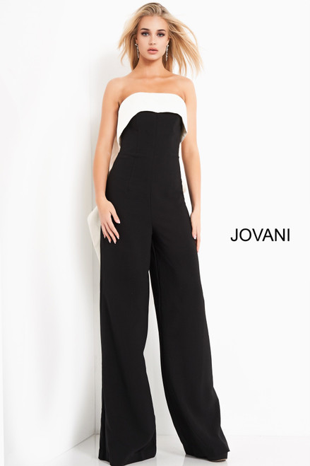 Jovani 04355 Strapless Evening jumpsuit