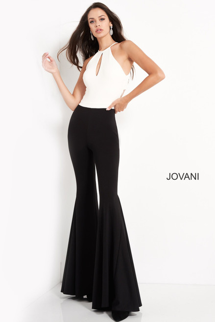 Jovani M02807 Sleeveless Contemporary Jumpsuit