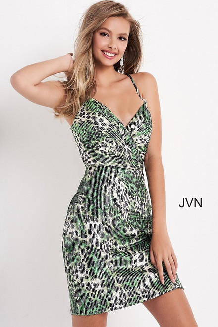 Jovani JVN05812 Spaghetti Strap Dress