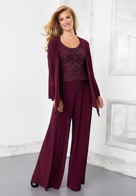 Morilee 72304 Three-Piece Jersey Evening Ensemble