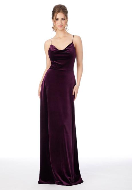 Morilee 21685 Stretch Velvet Bridesmaid Dress