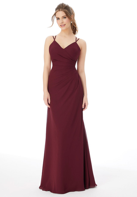 Morilee 13103 Strappy Chiffon Bridesmaid Dress