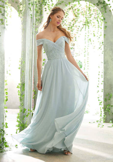 Morilee 21614 Embroidered Romantic Bridesmaid Dress