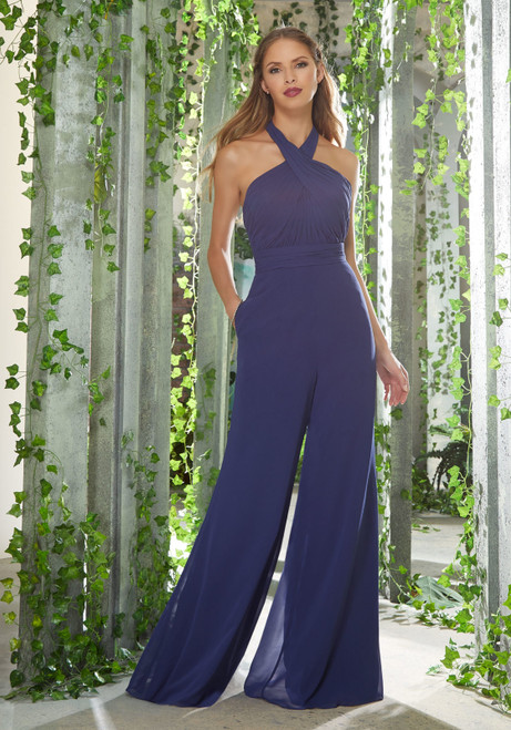 Morilee 21626 Chic Chiffon Bridesmaid Jumpsuit