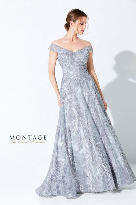 Ivonne D by Mon Cheri 220D24 Embellished Off Shoulder Gown