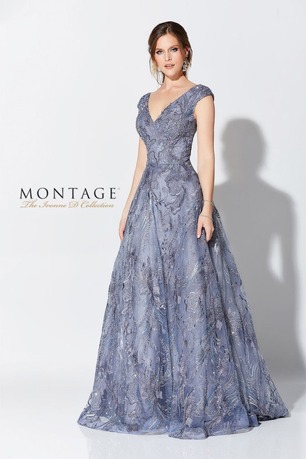 Ivonne D by Mon Cheri 119D50 Embroidered Tulle Ballgown