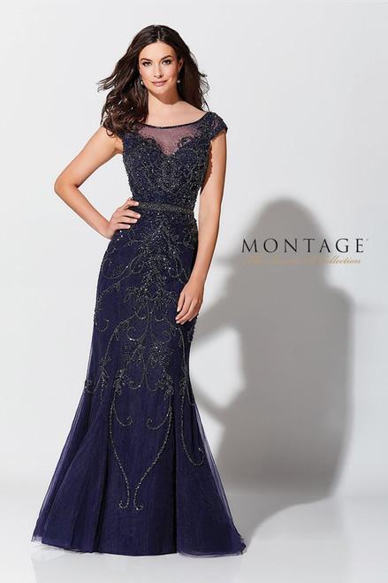 Ivonne D by Mon Cheri 117D66 Cap Sleeves Mermaid Gown