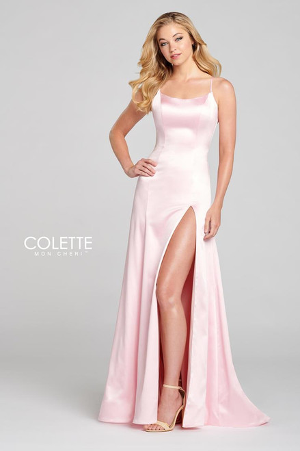 Colette by Mon Cheri CL12125 Sleeveless Sheath Gown
